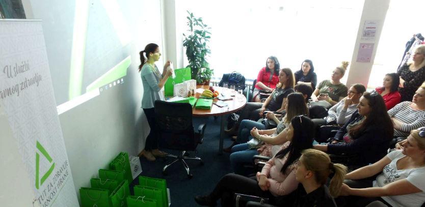 """Počela realizacija projekta INZ-a """"21 dan do zdravih navika"""""""