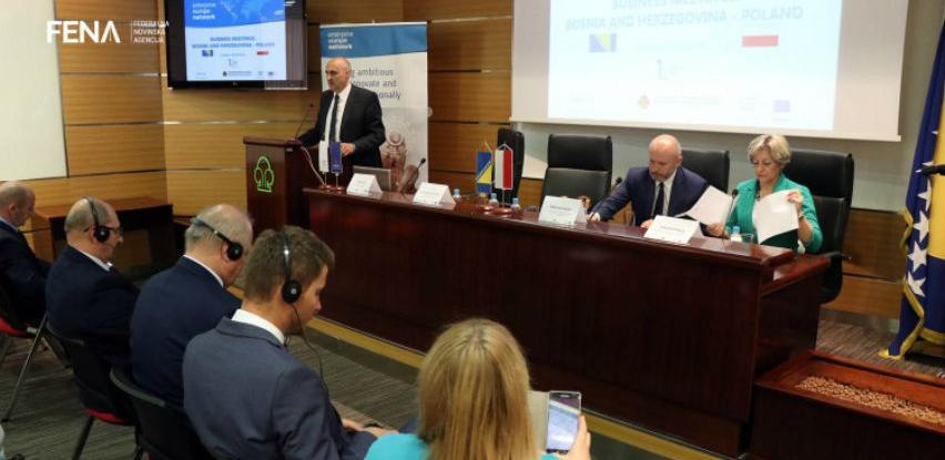 Mnogo prostora za unapređenje trgovinske saradnje BiH i Poljske