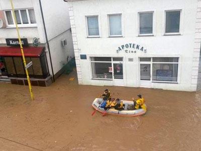 Započela realizacija projekta Odgovor UN-a na poplave