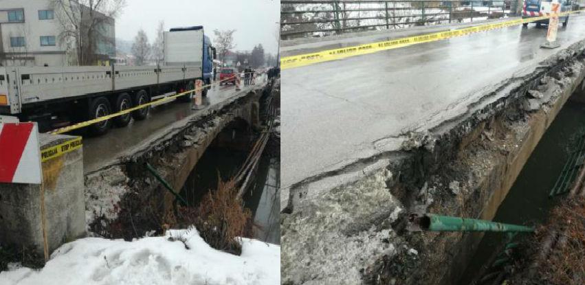 Privremena obustava saobraćaja preko mosta u Halilovićima