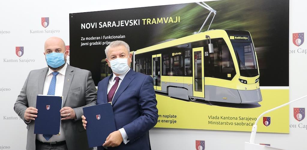 Potpisnici Ugovora o nabavci novih 15 tramvaja: Istorijski trenutak za građane Sarajeva