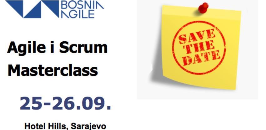 Trening u Sarajevu: Agile i Scrum Masterclass