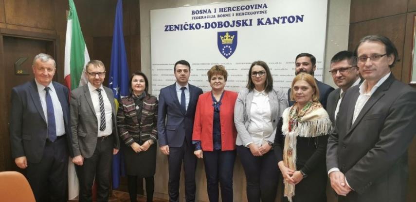 """Memorandum o saradnji na projektu """"Sinergijom do lakšeg zapošljavanja u ZDK"""""""
