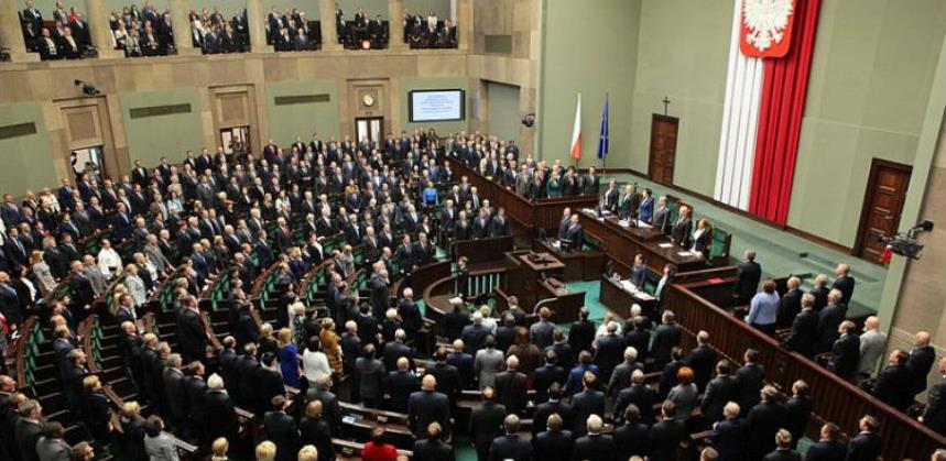 Parlament Poljske usvojio zakon o sudijama