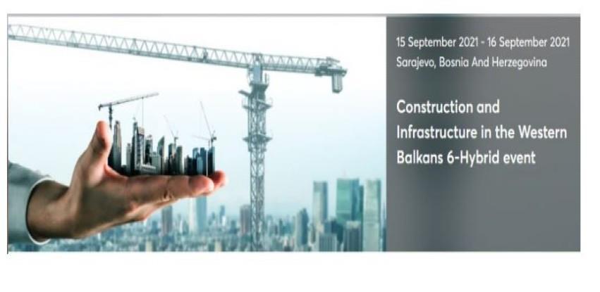 Konferencija: Građevinarstvo i infrastruktura 6 ekonomija Zapadnog Balkana