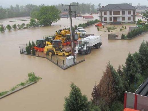 Proglašeno stanje prirodne nesreće na području Tuzlanskog kantona