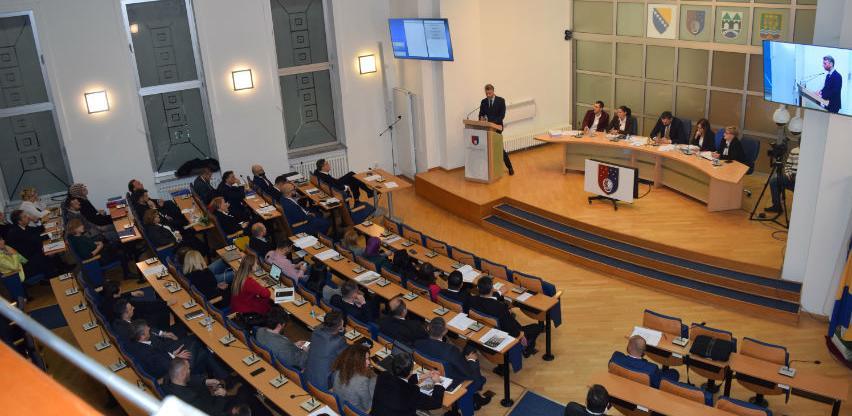Usvojen Nacrt budžeta KS za 2019. godinu