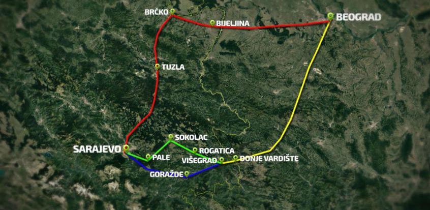 Kriza turske lire ne utiče na put Beograd - Sarajevo