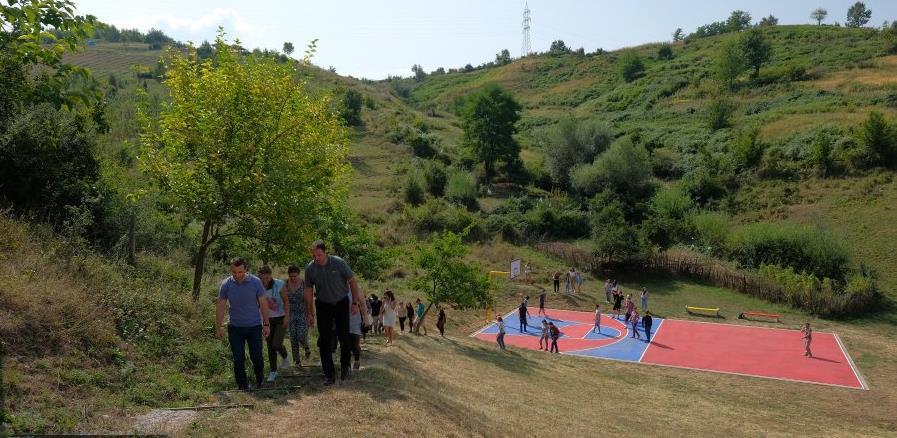 Gradit će se sportsko igralište na lokalitetu Park šume Mojmilo