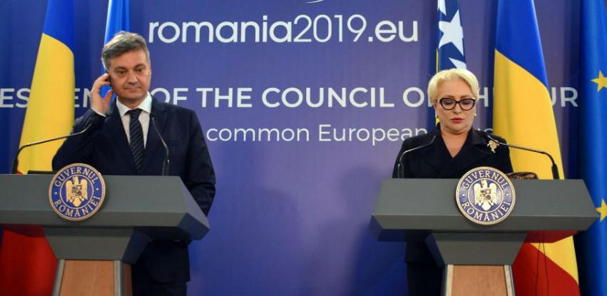 Snažna podrška Rumunije dodjeljivanju statusa kandidata BiH