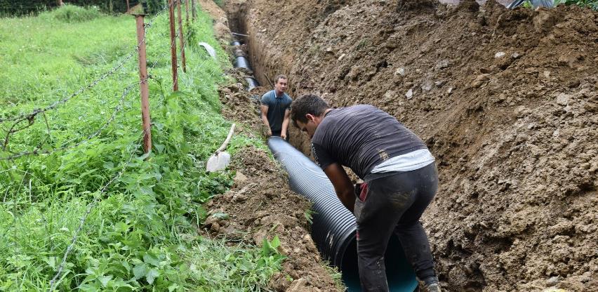 Prva faza radova na izgradnji kanalizacionog sistema Plješevica uskoro završava