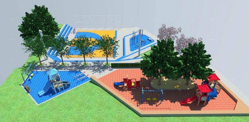 Predstavljeno idejno rješenje uređenja sportsko - rekreativne zone u Jajcu