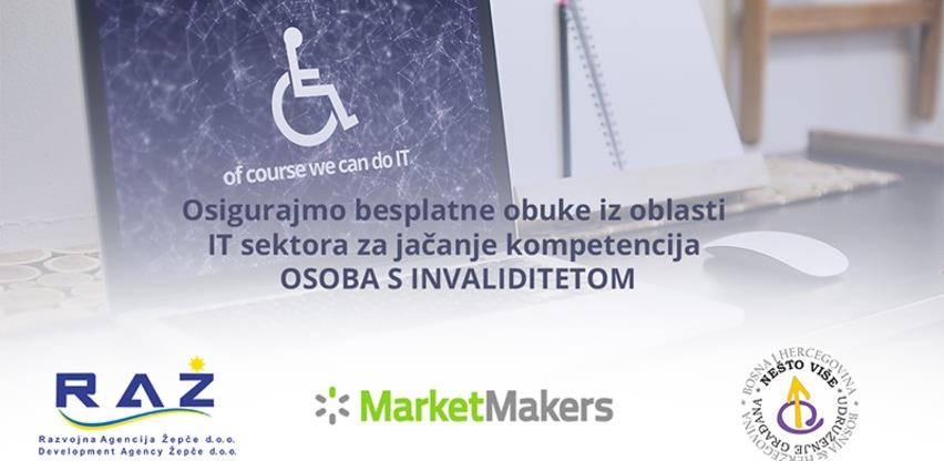 Crowdfunding kampanja: Besplatni IT treninzi za jačanje kapaciteta osoba s invaliditetom u BiH