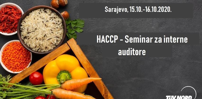 HACCP - seminar za interne auditore