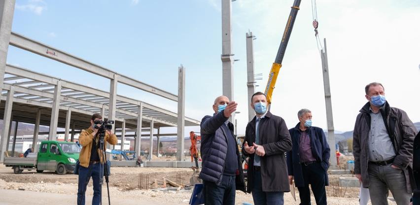 Načelnik Efendić sa predstavnicima ASA ŠPED-a obišao gradilišta tri fabrike