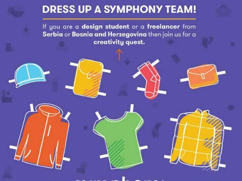 Prijavi se na natječaj i dizajniraj jedinstvenu odjeću za Symphony tim