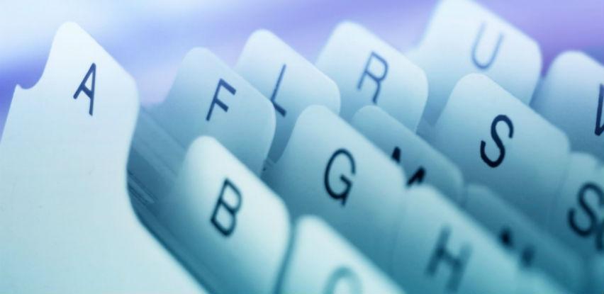 Uspostavlja se razmjena podataka o udruženjima i fondacijama