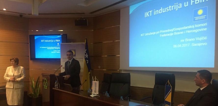 U IKT ektoru ima oko 1.000 kompanija koje zapošljavaju 10.000 zaposlenih i generišu BDP od 10 posto.