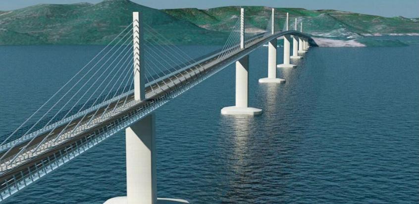 Predstavnički dom od Hrvatske i EU traži obustavu gradnje Pelješkog mosta