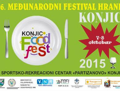 Završen 6. Konjic food-fest 2015