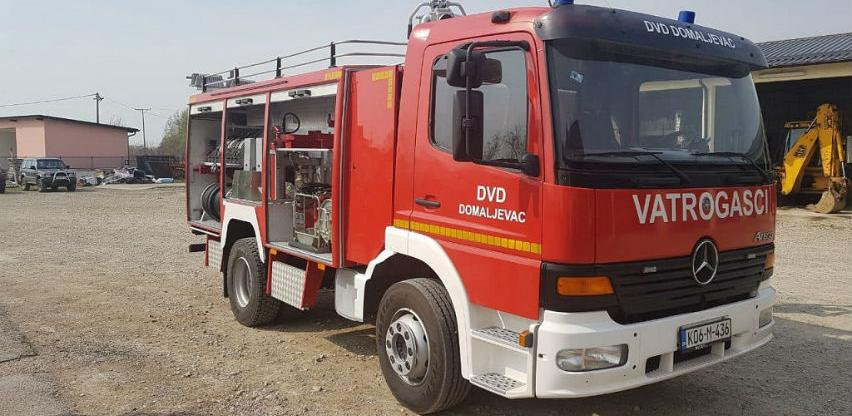 Općina Domaljevac-Šamac dobila prvo vatrogasno vozilo