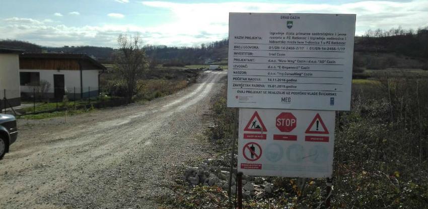 Završava se uspostava kompletne infrastrukture u Poslovnoj zoni Ratkovac