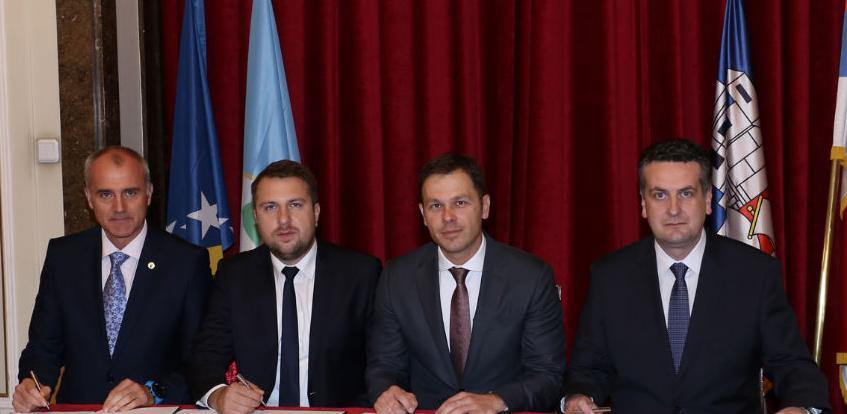 Potpisani sporazumi o saradnji Beograda, Istočnog Sarajeva i Sarajeva