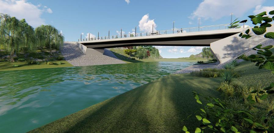 Iduće godine gradnja mosta preko Vrbasa