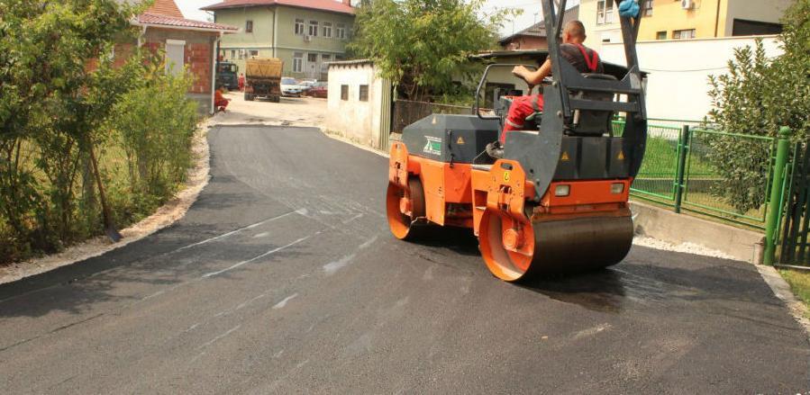 Asfaltirana nova saobraćajnica u Gradu Živinice