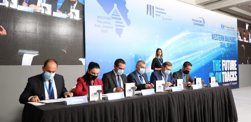 Mitrović na Željezničkom samitu zapadnog Balkana potpisao deklaraciju