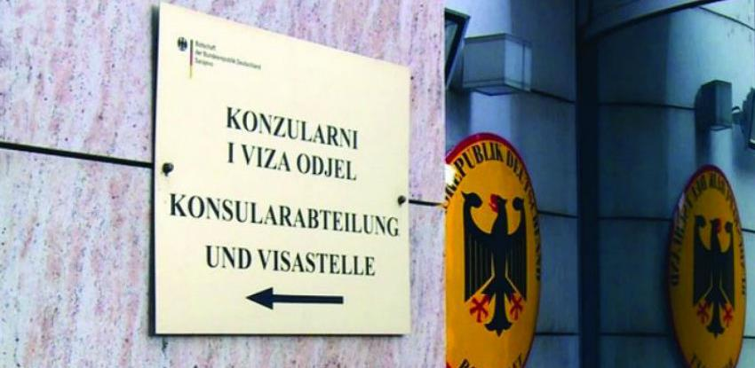Njemačka ambasada: Važna obavijest za dodjeljivanje termina