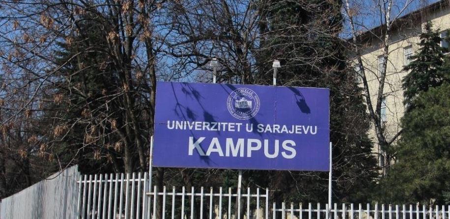 U maju tender za projekat urbane obnove kampusa u Sarajevu