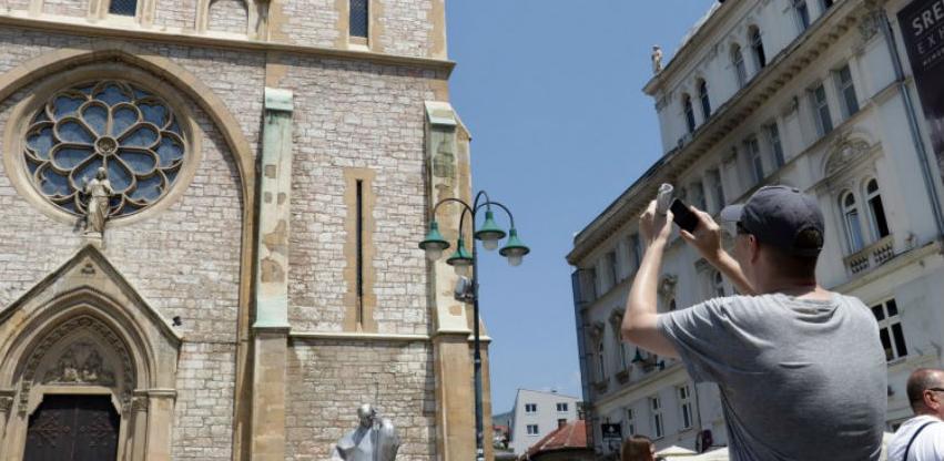 BiH posjetilo više od 810 hiljada turista, ostvareno oko 1,7 miliona noćenja