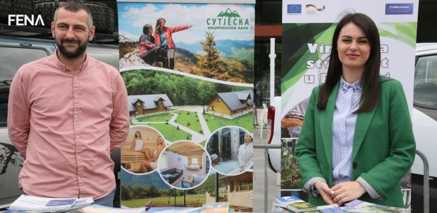 """Novović: Sutjeska je """"korona free"""" zona gdje svi mogu uživati u prirodi (VIDEO)"""