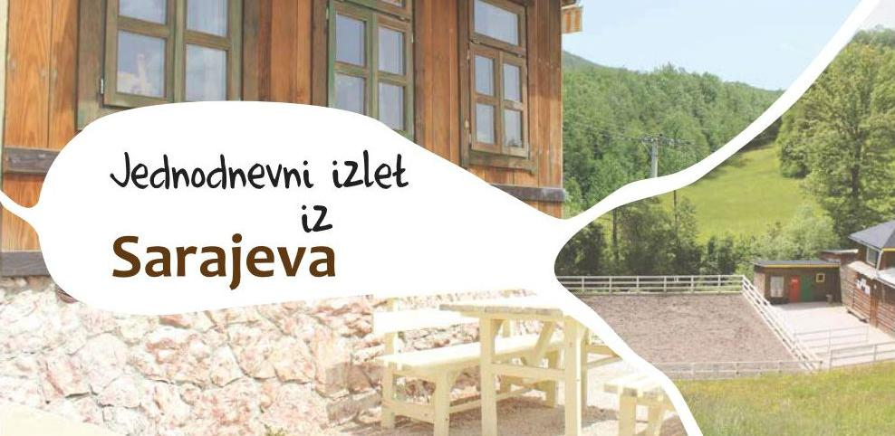 """Alterural predstavlja brošuru """"Jednodnevni izlet iz Sarajeva"""""""