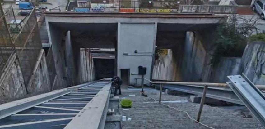 Krajem aprila završetak radova na montaži druge kabine kosog lifta na Ciglanama