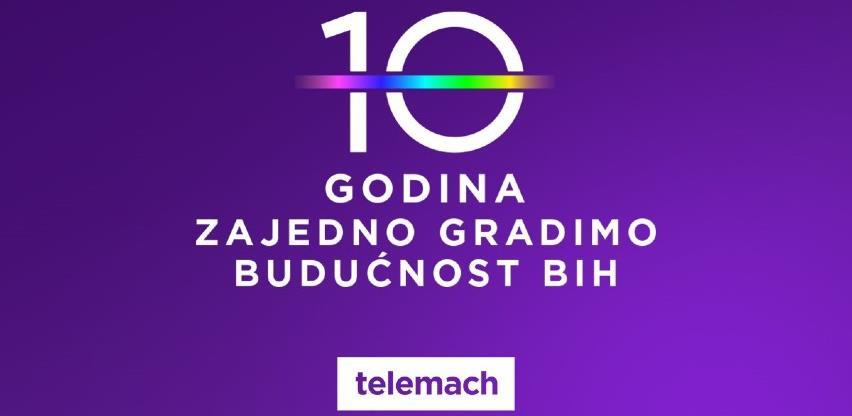 Prva decenija Telemach-a u BiH: 10 godina zajedno gradimo budućnost BiH