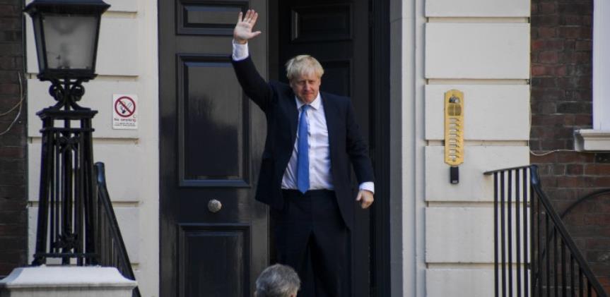 Britanski premijer Boris Johnson se vraća na posao