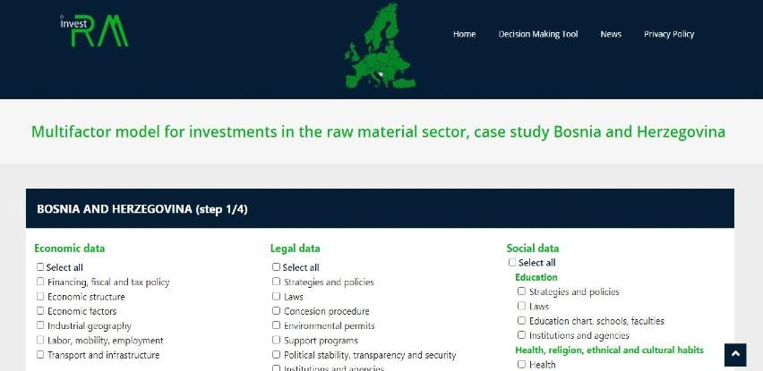 Izdata brošura za investiranje u sektor mineralnih sirovina BiH