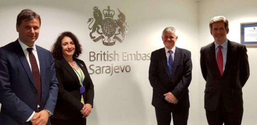 Novalić-Ferguson: Neophodno nastaviti s implementacijom Reformske agende