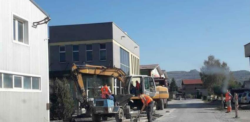 Intenzivirani radovi u poslovnoj zoni Ozrakovići