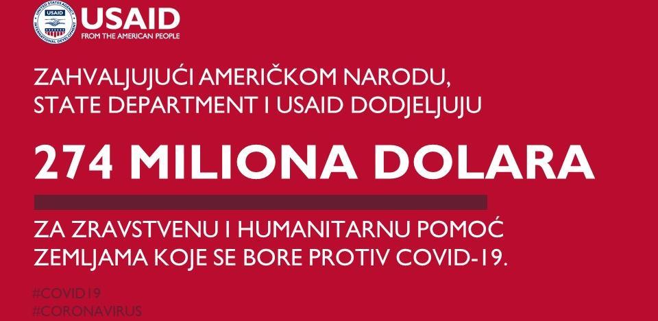 USAID donira 1,2 miliona dolara BiH