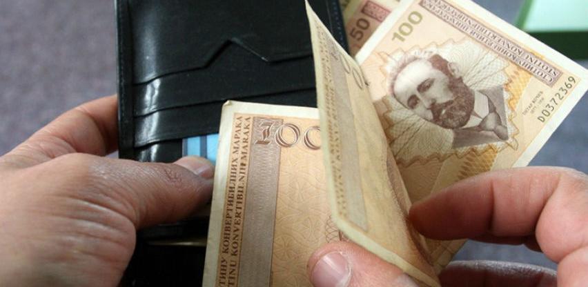 Prosječna neto plata u RS-u u februaru 896 KM