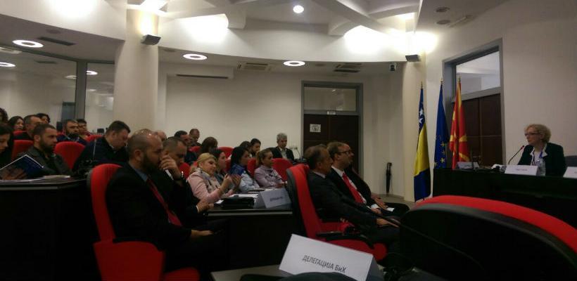 Sarajevo Business Forum 2017 predstavljen na Privrednom forumu u Makedoniji