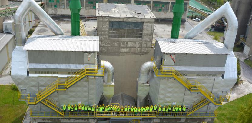 U povodu Dana planete Zemlje, danas je u Tvornici cementa Kakanj upriličeno zvanično puštanje u rad novih vrećastih filtera.
