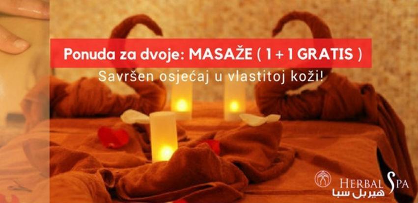 Ponuda za dvoje: MASAŽE (1+ 1 GRATIS)