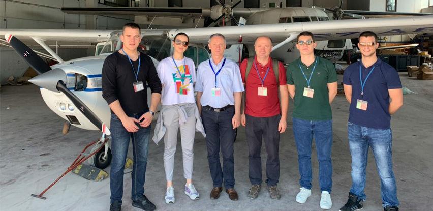 Budući piloti NSA u posjeti Međunarodnom aerodromu Sarajevo