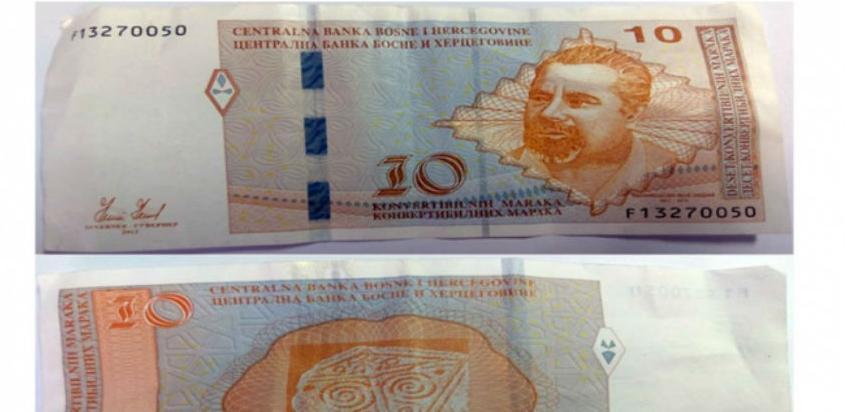 Novčanica od 10 KM s greškom u upotrebi već 20 godina