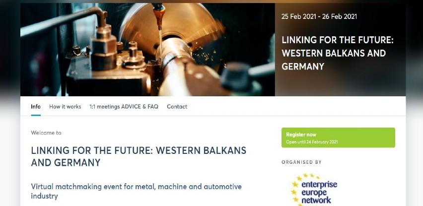 Poslovni susreti: Povezivanje za budućnost-Zapadni Balkan i Njemačka