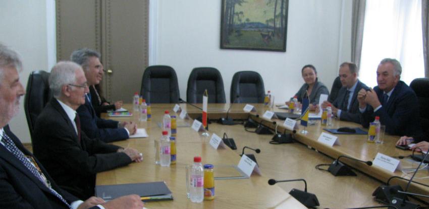 Šarović sa ministrom Malte razgovarao o unapređenju ekonomskih odnosa